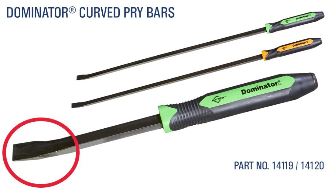 Mayhew Introduces Heavy-Duty Curved Pry Bars