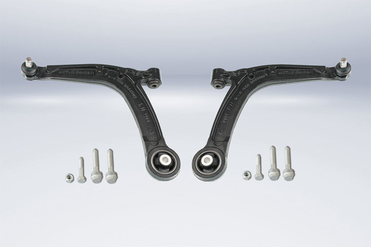 Meyle Offers HD control arms for Fiat and Ford