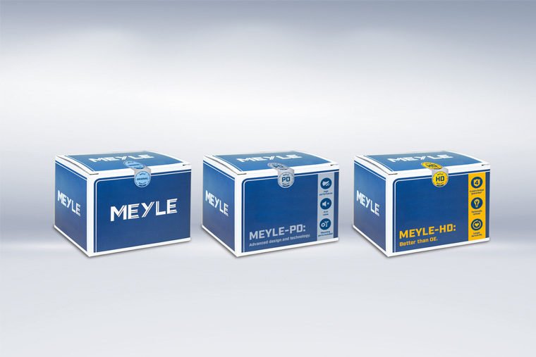 Meyle Redesigns Product Packaging