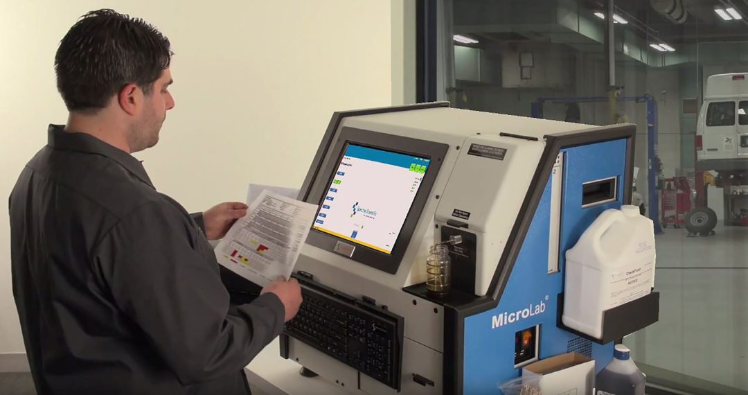 MicroLab Is Designed to Analyze Oil, Engine and Transmission in Minutes