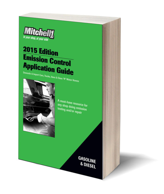 Mitchell 1 2015 Emission Control Application Guide now available