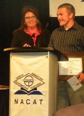 Mitchell 1 honors outstanding automotive student