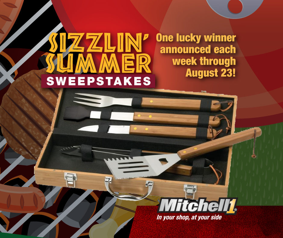 Mitchell 1 Launches 'Sizzlin' Summer Sweepstakes'