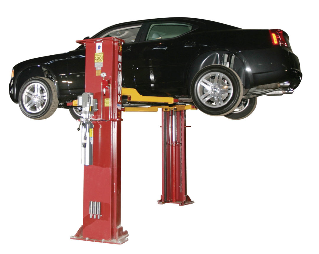 Mohawk's System I lift is designed for all cars and light trucks