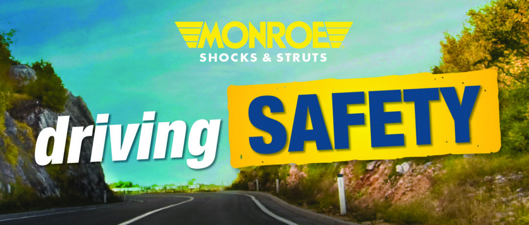 Monroe Shocks and Struts 'driving Safety' consumer promo from Tenneco