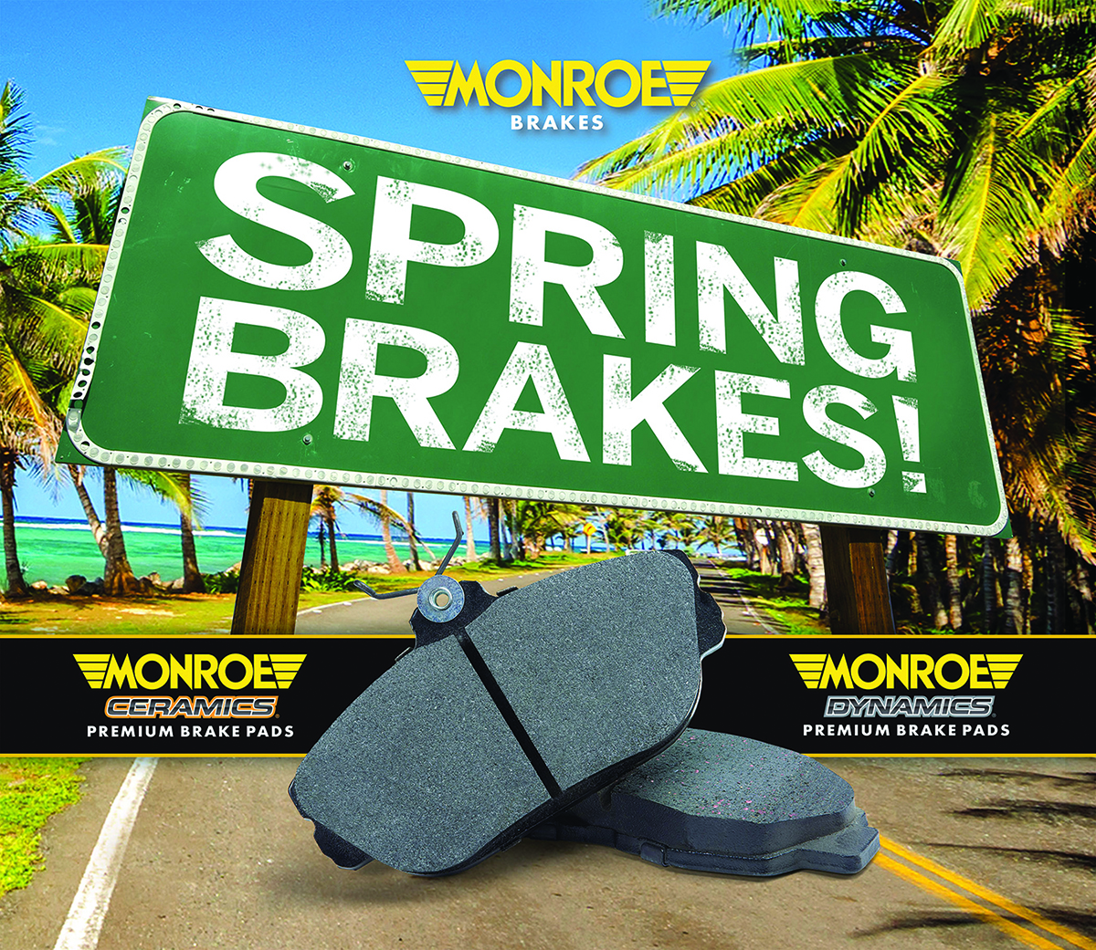 Monroe 'Spring Brakes!' promotion lasts through May