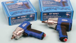 Mountain impact wrenches: A shooting match with two air guns