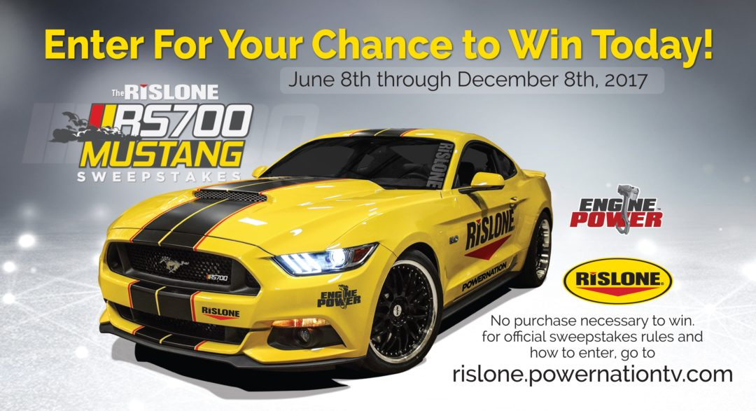 Mustang Sweepstakes Promotes Rislone Engine & Oil Additive