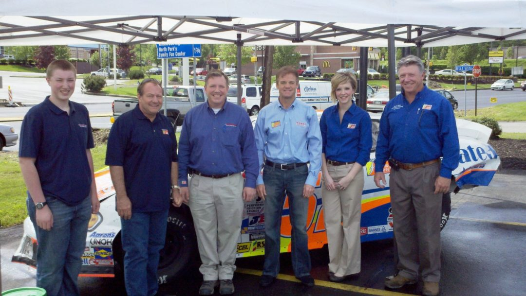 NASCAR event kicks off 14th Hovis store opening