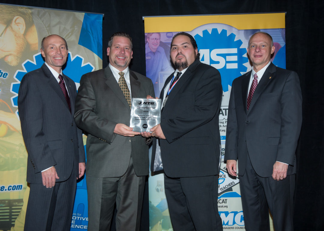 National Tire & Battery announces ASE Tech of the Year