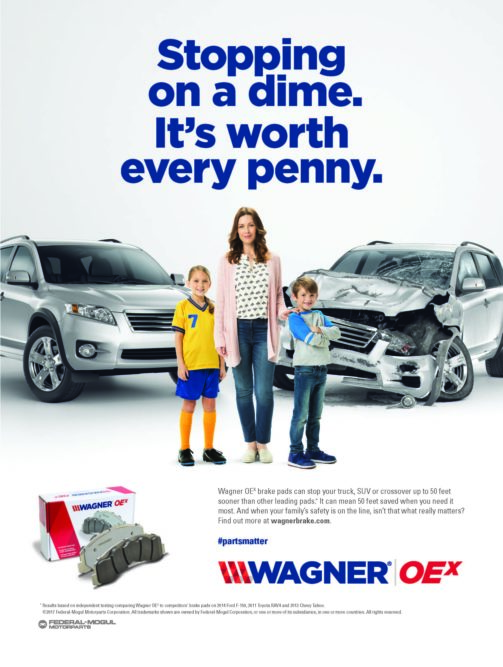 National Wagner Campaign Helps Consumers Choose Brake Pads