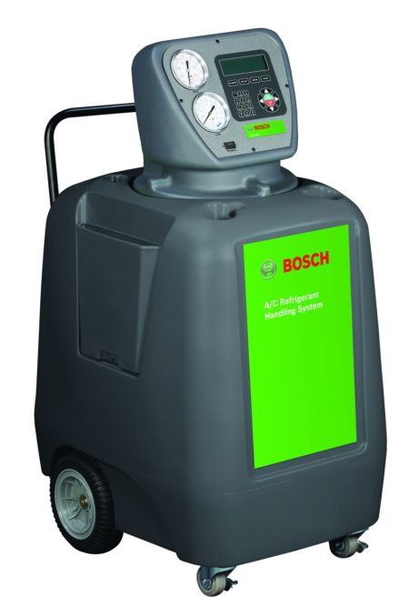 New Bosch automated Refrigerant Handling Systems