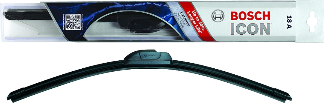 New Bosch ICON extreme weather wiper blade is custom fit, long-lasting