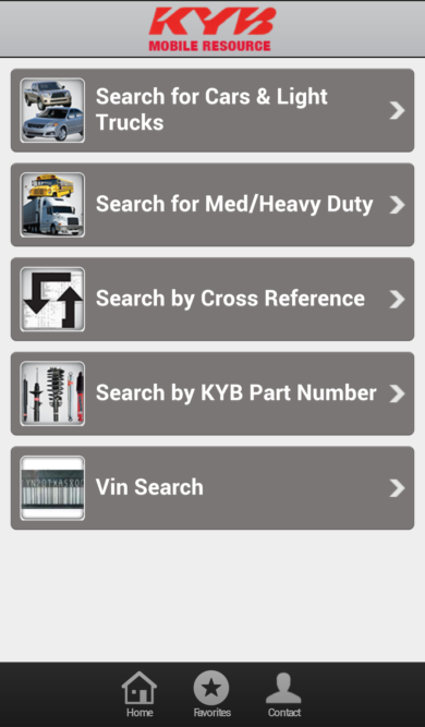 New KYB Mobile Resource app has all the shock and strut info you need