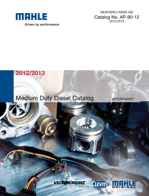 New Medium-Duty Diesel Catalog from MAHLE Clevite