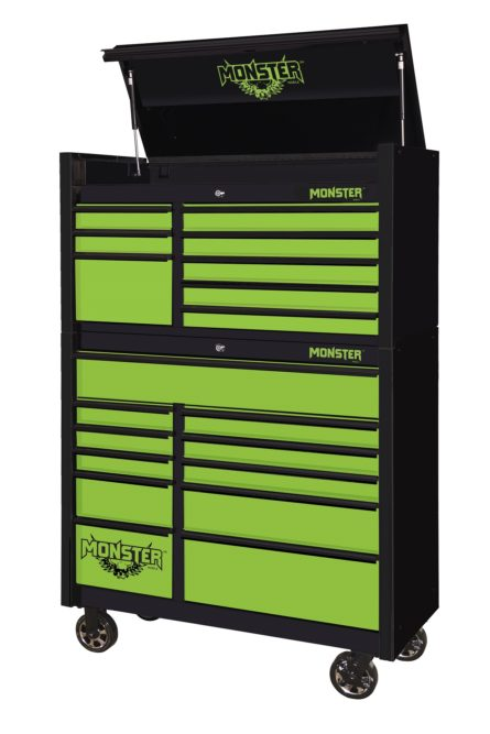 New Monster Toolboxes Are Available in 41-Inch Size