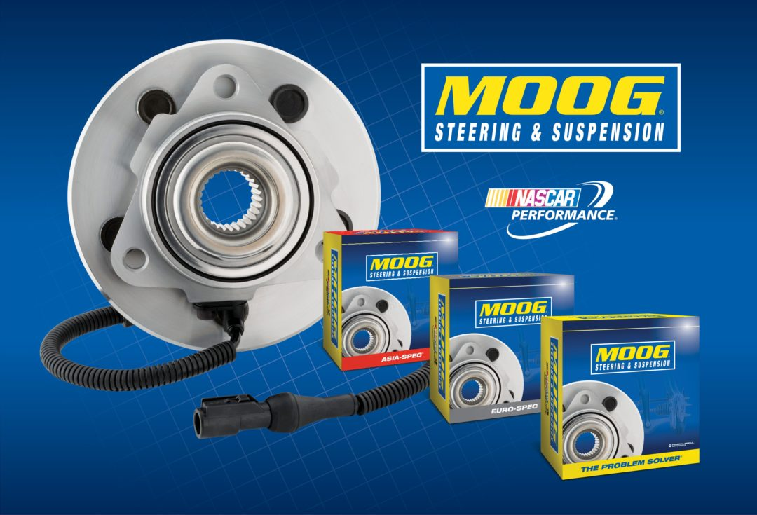New Moog steering and suspension parts cover 12 million vehicles