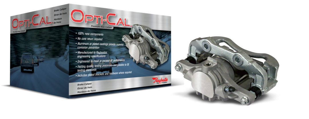 New Raybestos Opti-Cal Brake Calipers Eliminate Core Returns