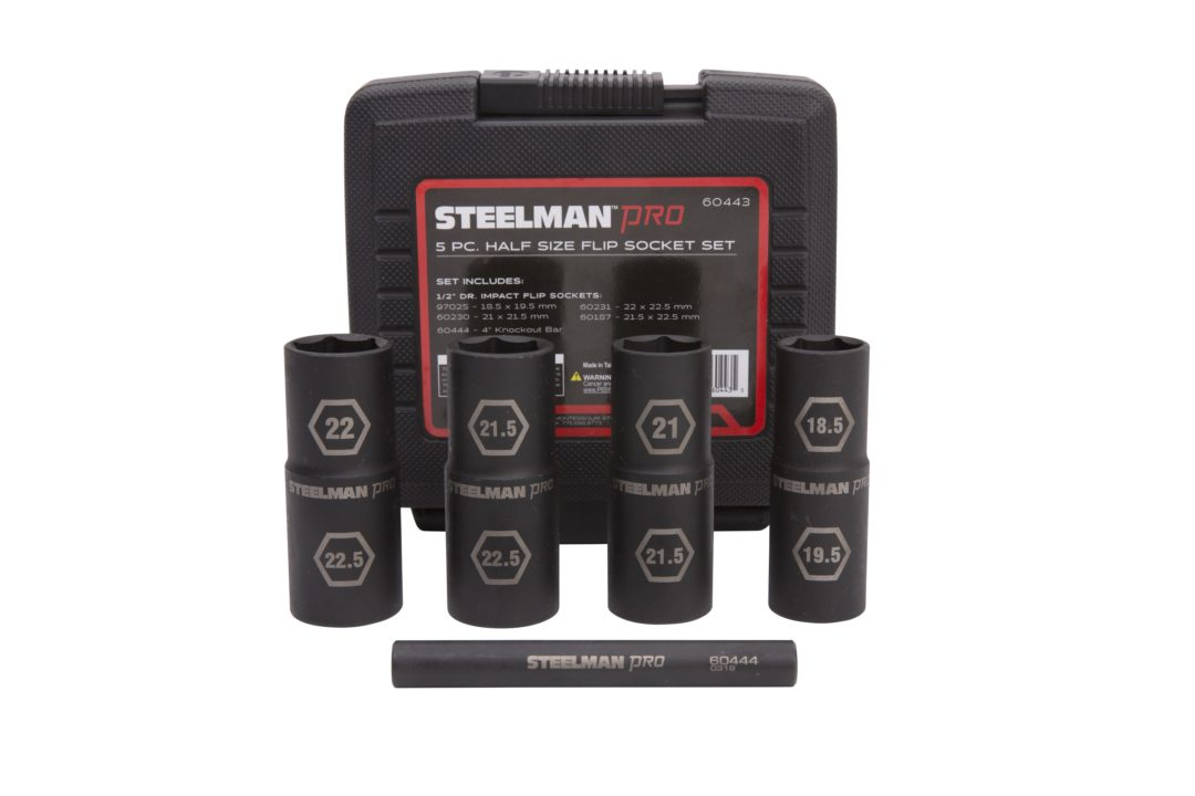 New Steelman Socket Set Comes With Four Common Half Sizes