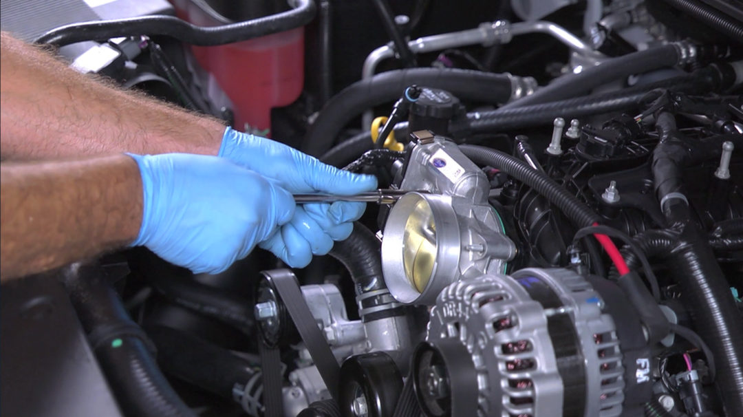 New TechSmart video shows how to install new electronic throttle body