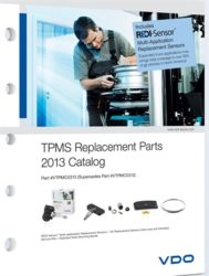 New VDO TPMS catalog features expanded REDI-sensor coverage