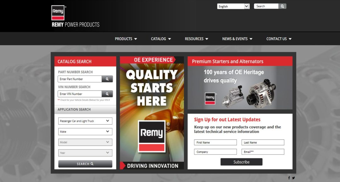 New Website Launched by Remy Power Products