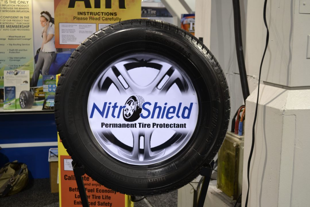 NitroFill Inc. offers lifetime tire protection with NitroShield