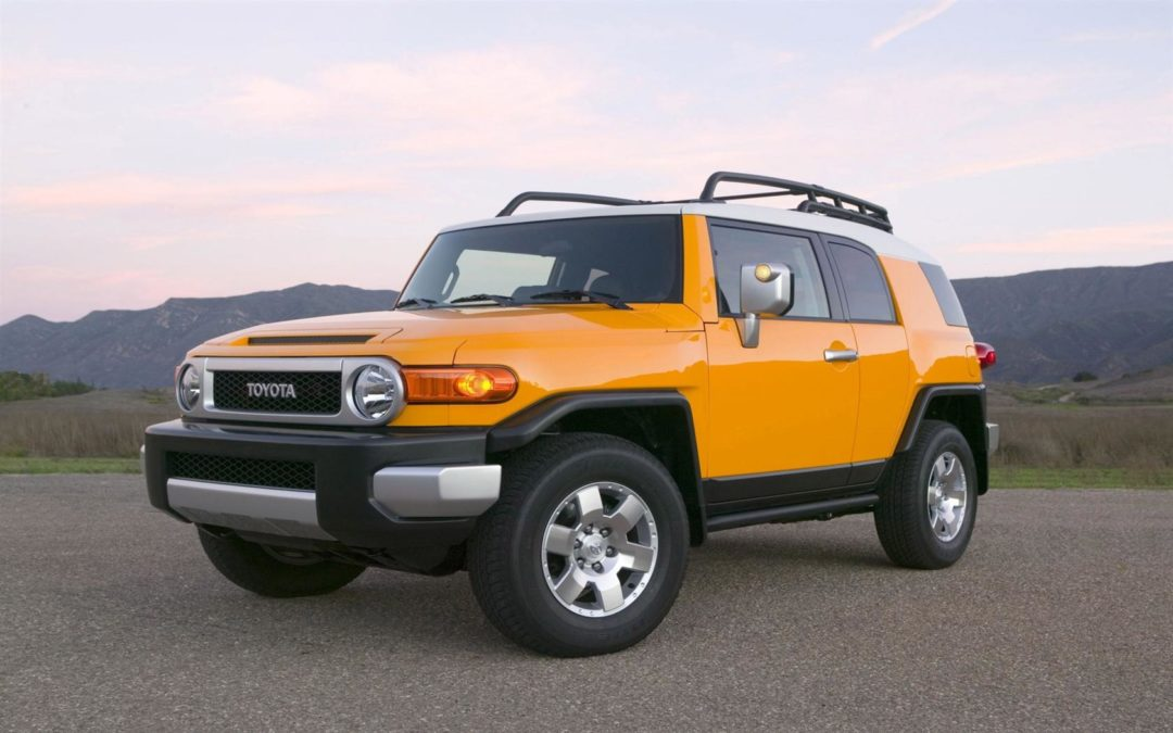 No keys for FJ Cruiser?