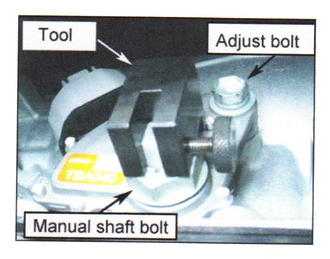 Not well adjusted: Hyundai neutral switch