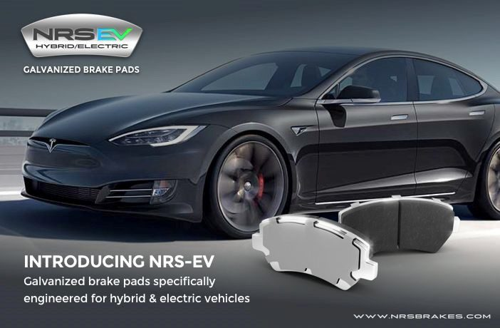 NRS Introduces Brake Pads for Hybrids and Electric Vehicles
