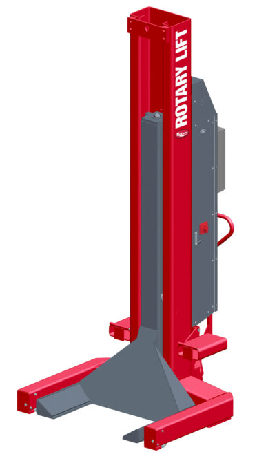 Operator-friendly mobile Rotary lift
