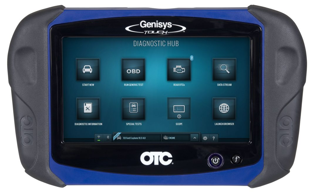OTC launches Genisys Touch wireless diagnostic system
