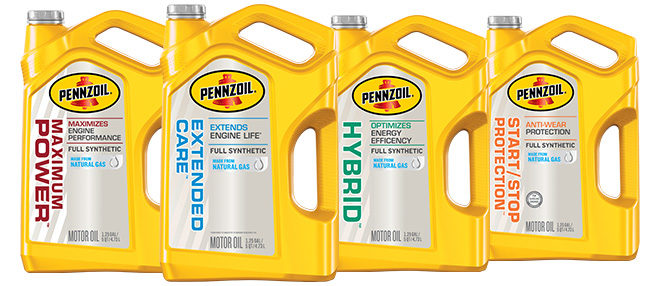 Pennzoil Synthetic Motor Oil Line Expands