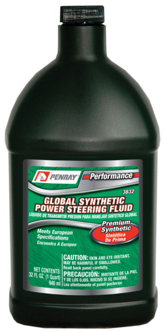 Penray introduces Performance Global Synthetic Power Steering Fluid