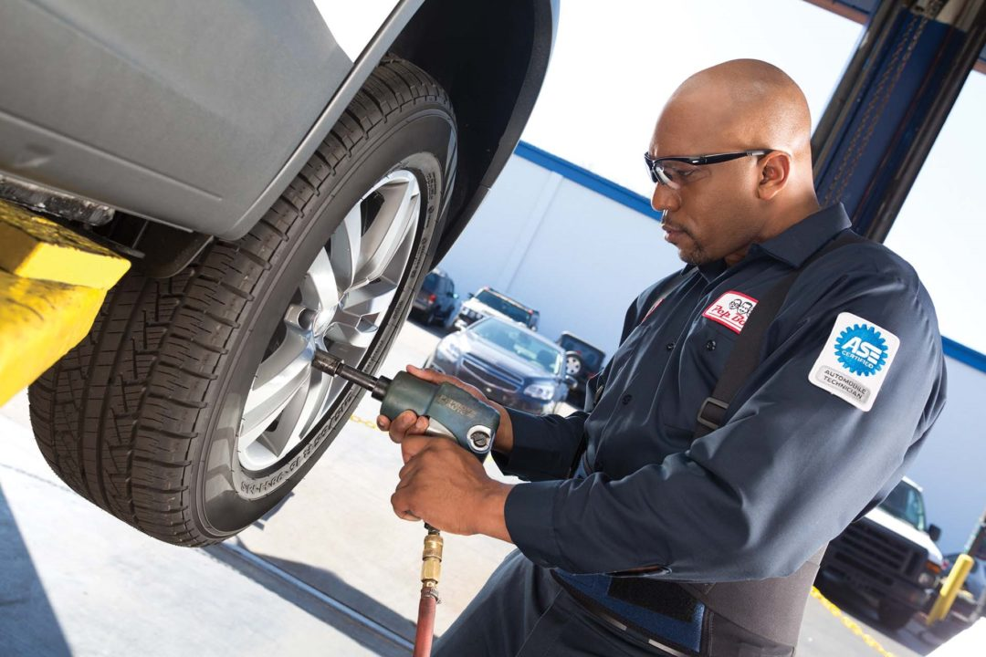 Pep Boys — Manny, Moe & Jack to Install Tires for Amazon