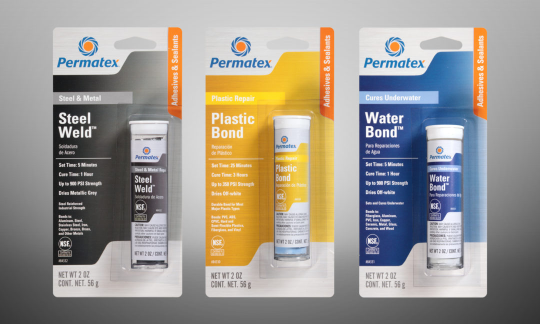 Permatex expands line of epoxy sticks