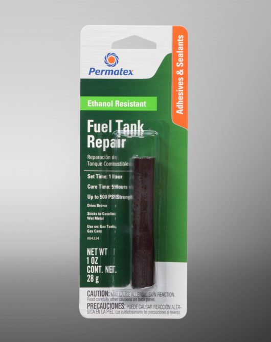 Permatex has new epoxy stick for quick and easy fuel tank repairs