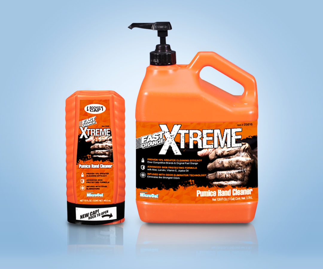 Permatex Introduces Fast Orange Xtreme Hand Cleaner