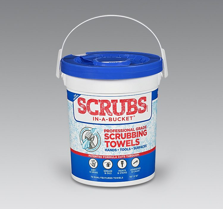 Permatex Offers Scrubs In-A-Bucket Cleaning Towels for Shops
