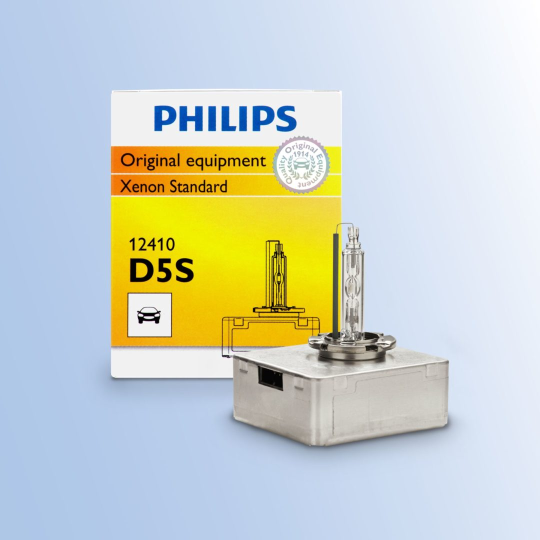 Philips D5S Xenon HID Bulb Is Available as Aftermarket Replacement
