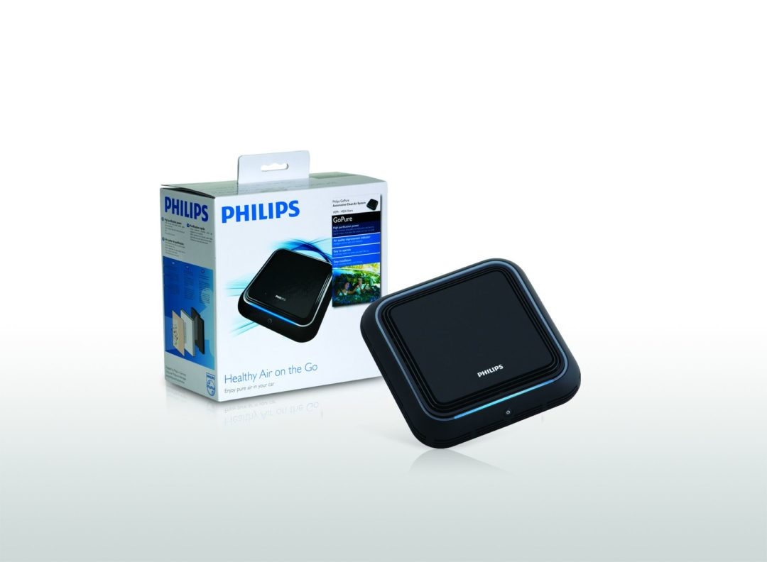 Philips introduces GoPure Automotive Clean Air System