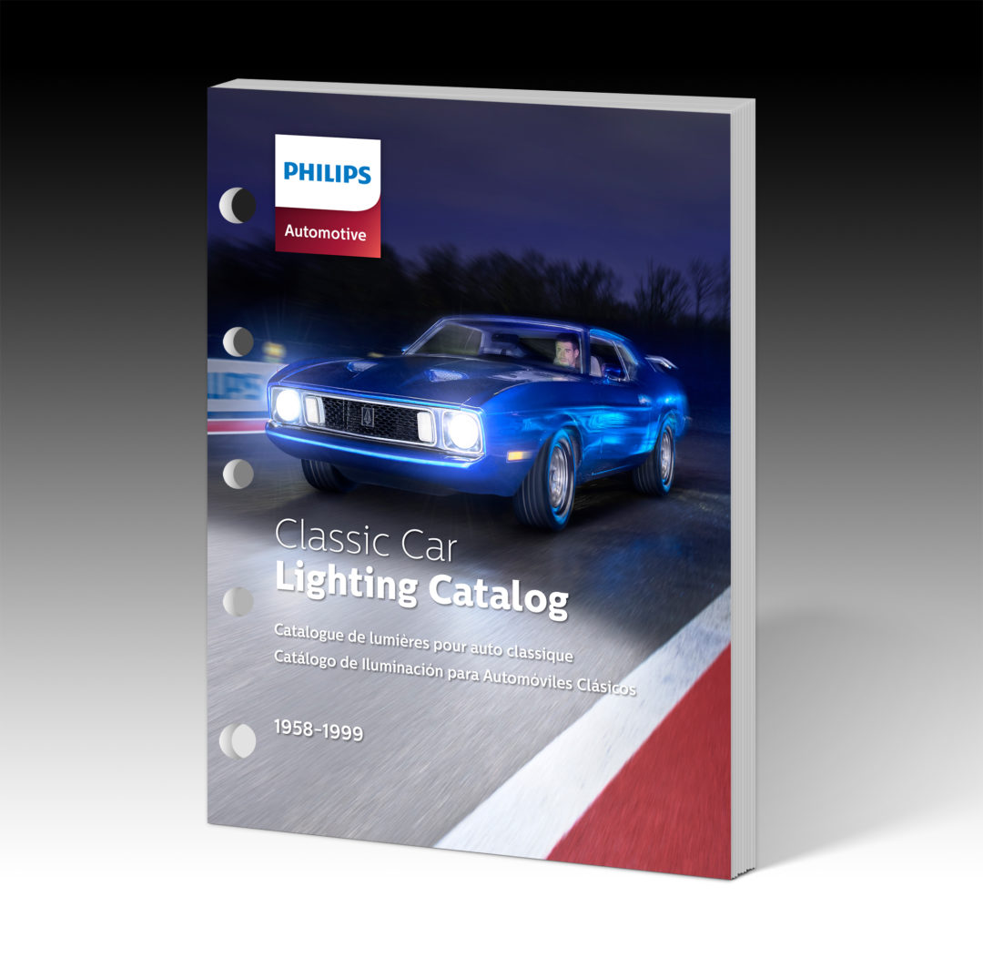 Philips Lighting Catalog Covers 72 Antique and Classic Makes
