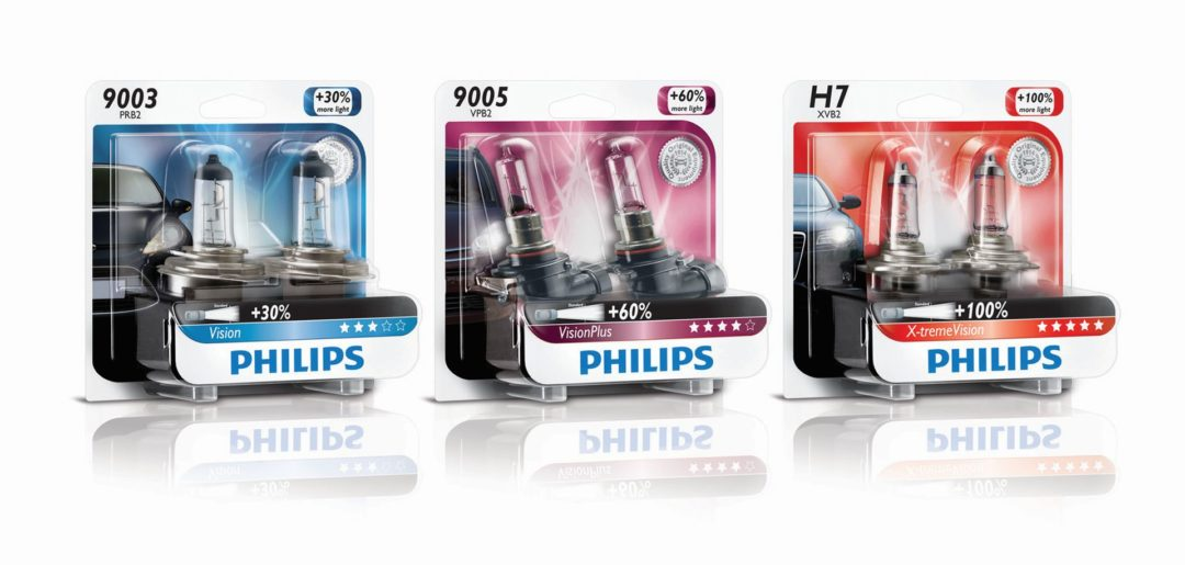 Philips Offers Upgrade Headlight Bulbs in 3 Ranges