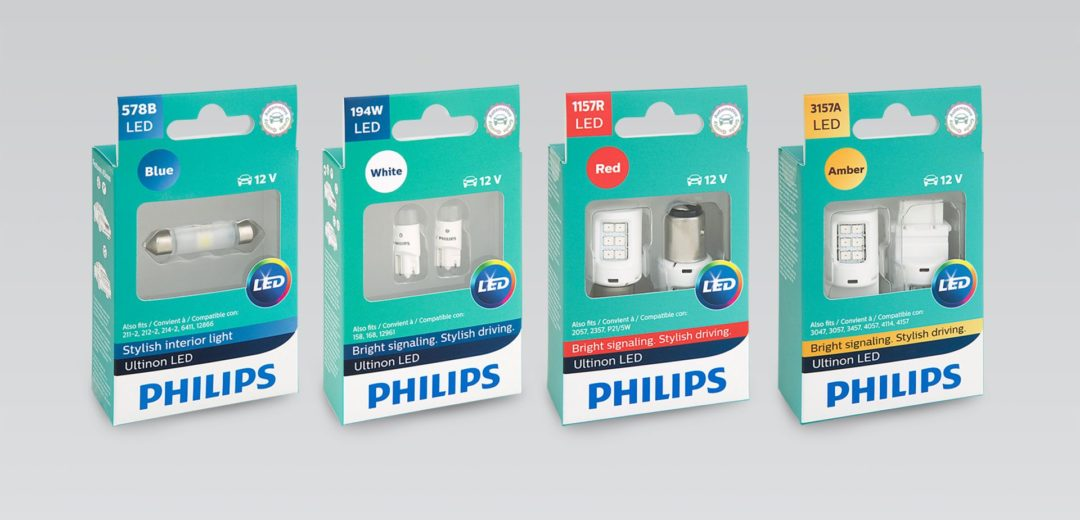 Philips Ultinon LEDs Fit A Wide Range of Applications