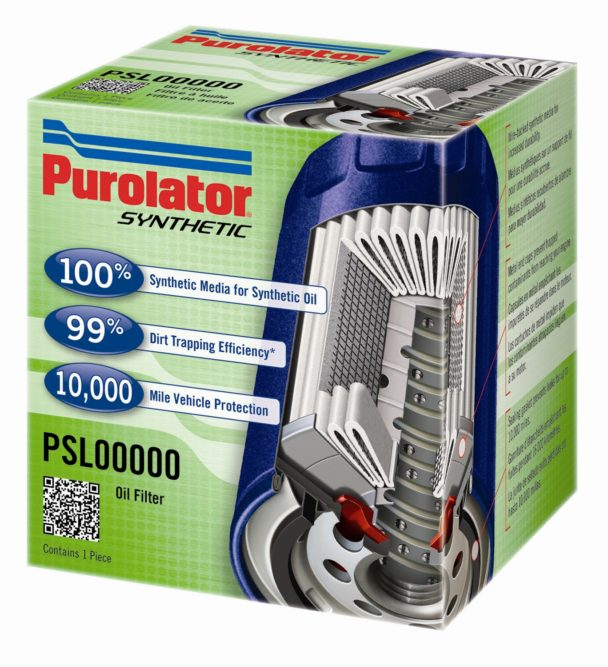 Purolator Synthetic filter is designed for synthetic motor oil