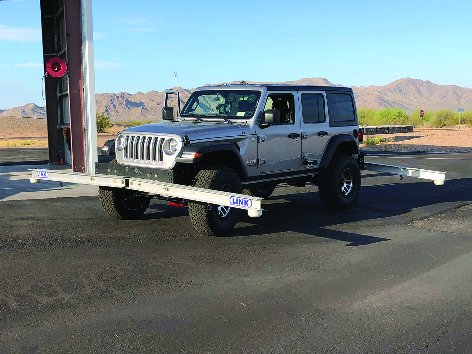 Rancho Jeep Suspension System Passes Rollover Test