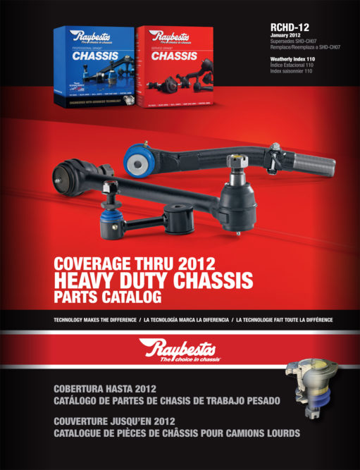 Raybestos chassis catalog lists 1,000+ heavy-duty parts