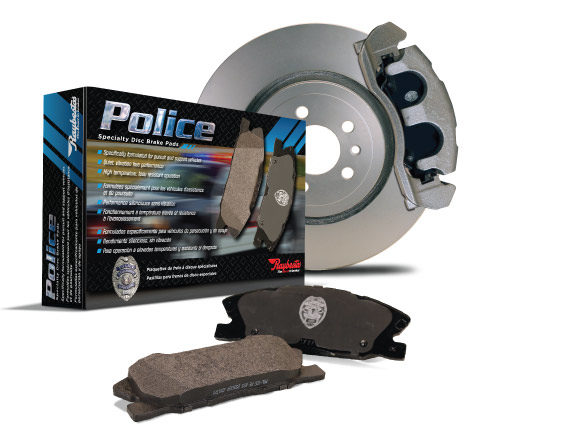 Raybestos Police Brakes are Available for Law Enforcement Vehicles