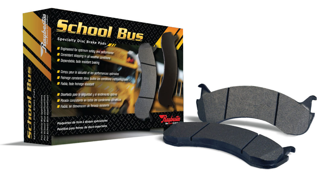 Raybestos Specialty School Bus Brakes Offer Safety