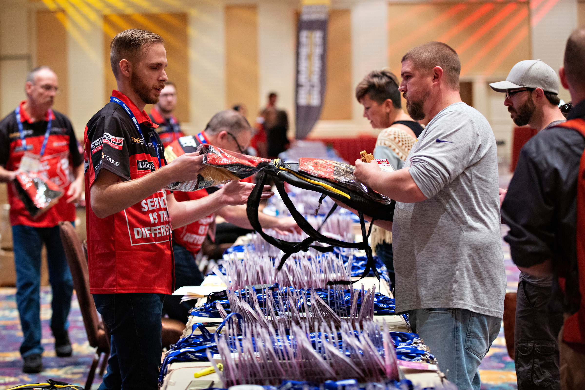 Record Number of Alliance Members Took to the Streets at AAPEX